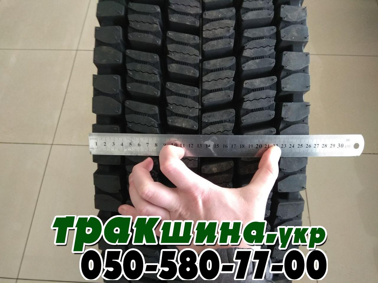 Ширина протектора грузовой китайской шины Windpower WDR37 315/80r22.5