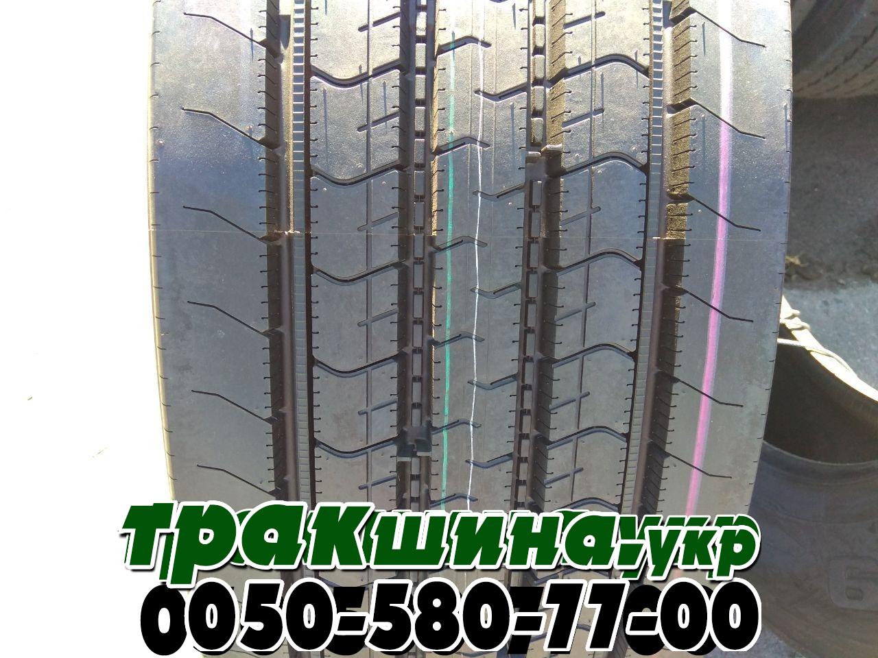 На фото показан протектор грузовой шины Bridgestone R249